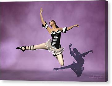Jazzy Jete Canvas Print by Andre Price