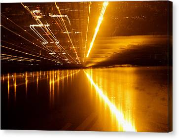 Jazzy Light Canvas Print by Rajiv Chopra
