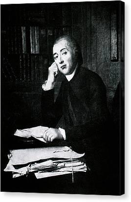 Jean Senebier Canvas Print