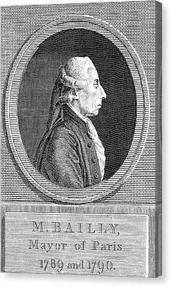 Jean Sylvain Bailly Canvas Print by Universal History Archive/uig