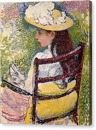 Jeanne Pissaro Canvas Print by Mountain Dreams