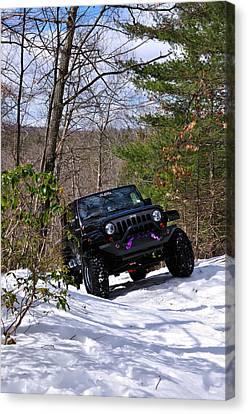 Jeep Canvas Print - Jeep 3 by J Scott Davidson