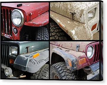Jeep 4x4 Canvas Print by Luke Moore