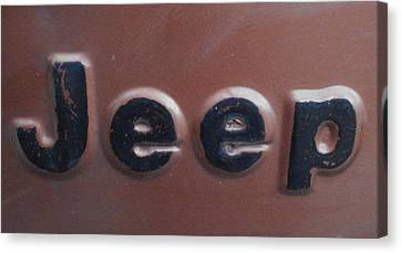 Jeep Two Canvas Print