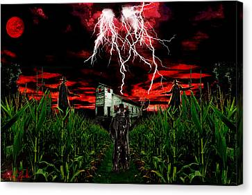 Jeepers Creepers Canvas Print by Michael Rucker