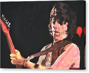 Jeff Beck Canvas Print
