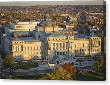 Jefferson Building Canvas Print