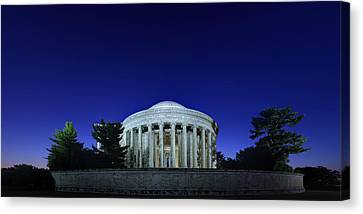 Thomas Jefferson Canvas Print - Jefferson In The Morning by Metro DC Photography