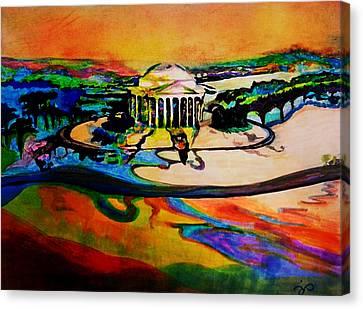 Jefferson Canvas Print by Jill Jacobs