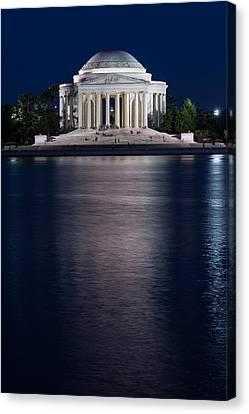 Jefferson Memorial Washington D C Canvas Print