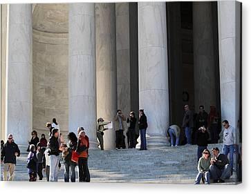 Jefferson Memorial - Washington Dc - 01132 Canvas Print