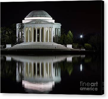 Jefferson Reflections Canvas Print