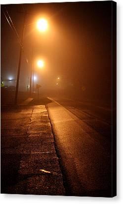 Jefferson Street - La Grange Ky Canvas Print by Chris Fender
