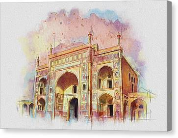Jehangir Form Canvas Print by Catf