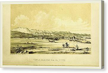 Jelalabad, Narrative Of Various Journeys In Balochistan Canvas Print by Litz Collection