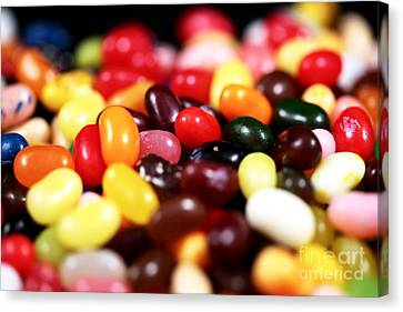 Jelly Beans Canvas Print by John Rizzuto