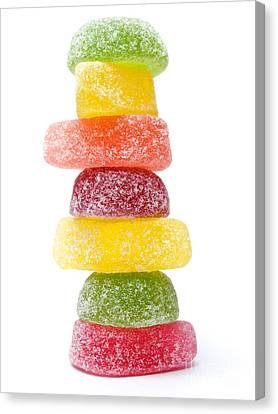 Jelly Candies Canvas Print