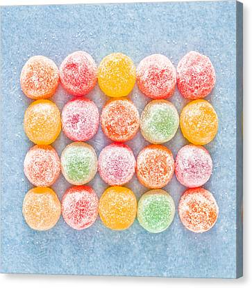 Jelly Sweets Canvas Print by Tom Gowanlock