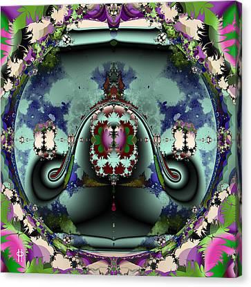 Jellyfish Bowl Canvas Print by Jim Pavelle