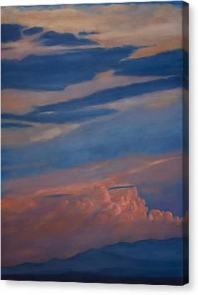 Canvas Print - Jemez Mountain Sunset by Jack Atkins