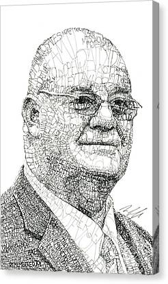 Jen Snyder Father In Law Canvas Print by Michael Volpicelli