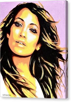 Jennifer Lopez Canvas Print