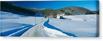 Jenny Farm, South Of Woodstock, Vermont Canvas Print by Panoramic Images