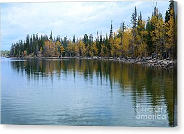 Jenny Lake Canvas Print by Kathleen Struckle