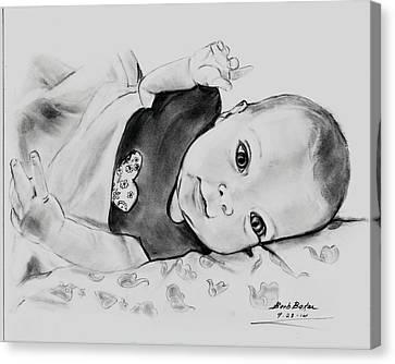 Jenny Rebecca Canvas Print