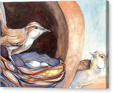 Jenny Wrens Canvas Print