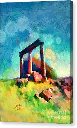Jerash 2 Canvas Print