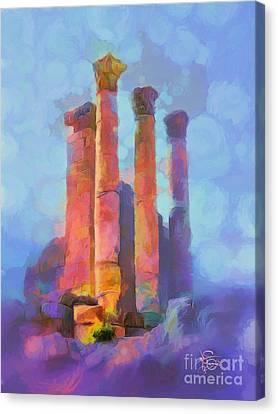 Jerash Canvas Print