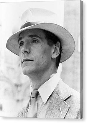 Jeremy Irons In Brideshead Revisited  Canvas Print by Silver Screen
