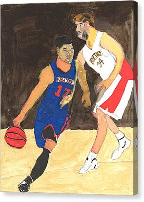 Jeremy Lynn The Amazing Canvas Print by Nat Solomon