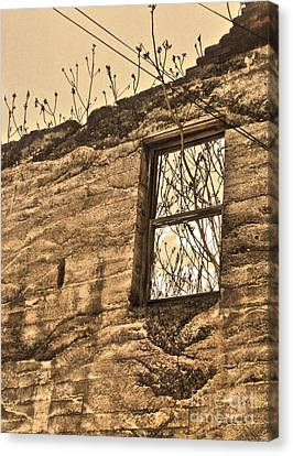 Jerome Arizona - Ruins - 01 Canvas Print by Gregory Dyer