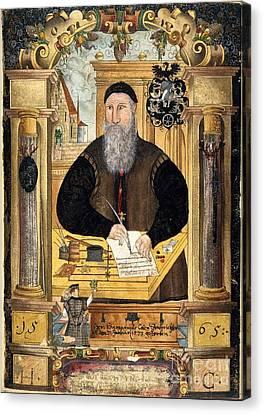Jerome Coeler The Elder, German Judge Canvas Print by British Library
