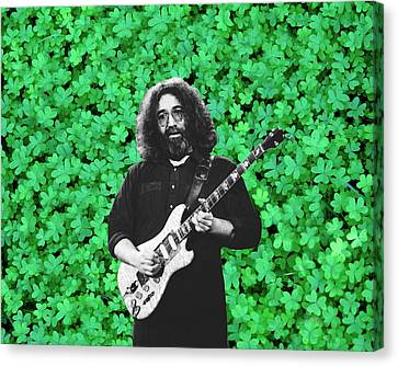Canvas Print featuring the photograph Jerry Clover 1 by Ben Upham