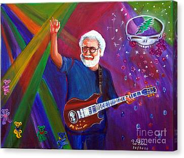 Tolan Canvas Print - Jerry Garcia 3 by To-Tam Gerwe