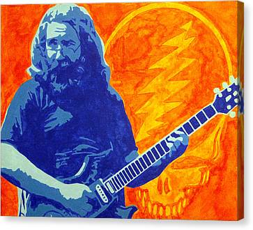 Jerry Garcia Canvas Print by Doran Connell