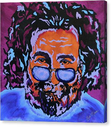 Commissions Canvas Print - Jerry Garcia-it's A Me Thing by Bill Manson