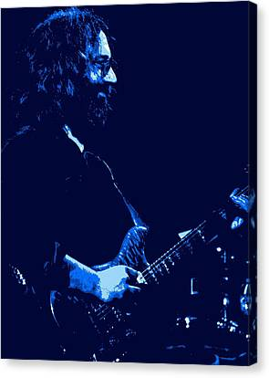 Jerry Happy At Winterland 2 Canvas Print by Ben Upham