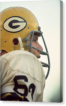 Jerry Kramer Close Up Canvas Print