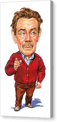 Jerry Stiller As Frank Costanza Canvas Print by Art