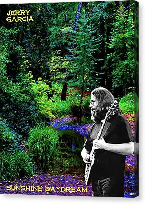 Canvas Print featuring the photograph Jerry's Sunshine Daydream by Ben Upham