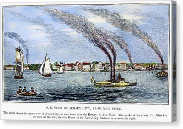 Jersey City, 1844 Canvas Print by Granger