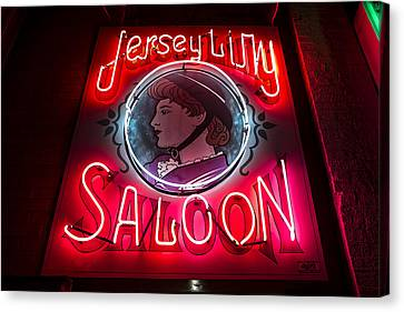 Jersey Lilly Saloon Canvas Print
