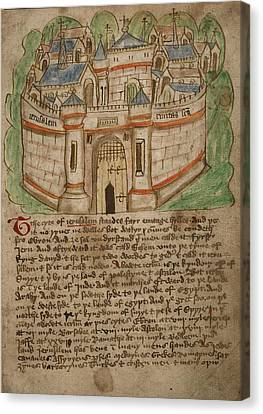 Jerusalem Canvas Print by British Library