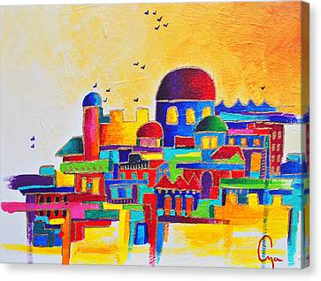 Jerusalem Canvas Print by Dawnstarstudios