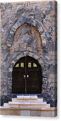 Jerusalem Doorway Canvas Print