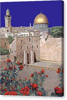 Jerusalem Canvas Print by Guido Borelli